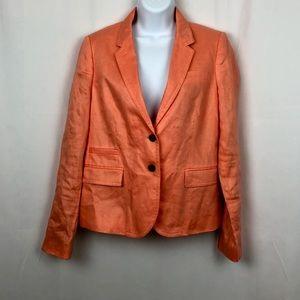 J.Crew linen jacket pockets 8